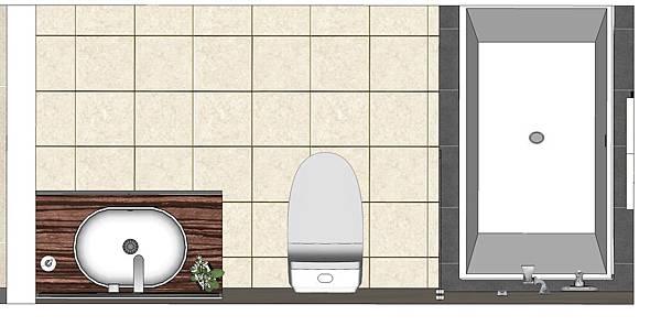 神岡吳公館3F20131230   浴廁平面圖