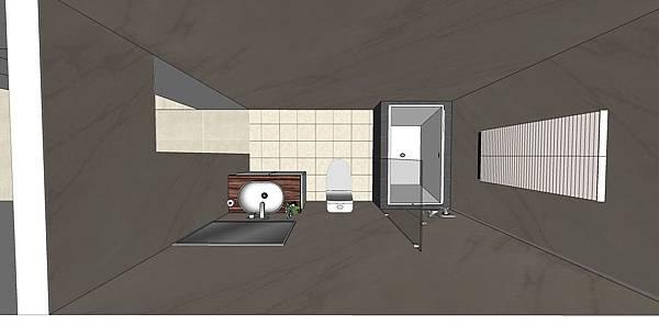 神岡吳公館3F20131230   浴廁俯視圖