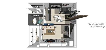 台中舊屋改造翻新 室內規劃設計3D圖.jpg