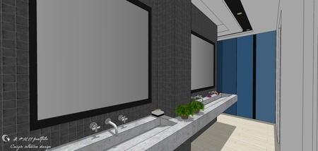 台中舊屋改造翻新 開放式洗手台設計.jpg