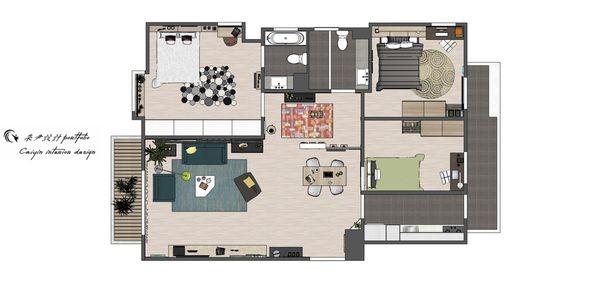 台中老屋改造 室內空間設計規劃平面圖.jpg