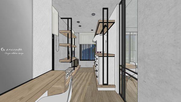博星建設 泊心 更衣室空間系統收納開放衣櫃設計.jpg