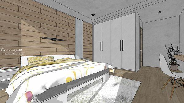 博星建設 泊心 臥室空間系統收納衣櫃設計.jpg