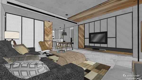 博星建設 泊心 客廳空間收納系統櫃設計.jpg