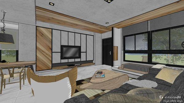 博星建設 泊心 客廳空間電視牆收納系統櫃設計 (2).jpg