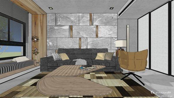 博星建設 泊心 客廳空間系統臥榻櫃設計.jpg