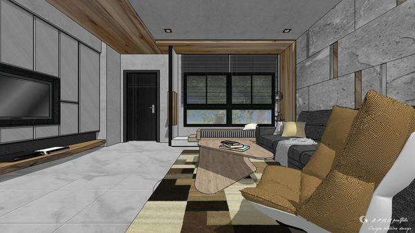博星建設 泊心 客廳空間電視牆收納系統櫃設計.jpg