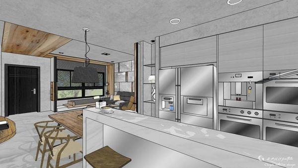 博星建設 泊心 廚房空間系統收納吧台櫃設計.jpg