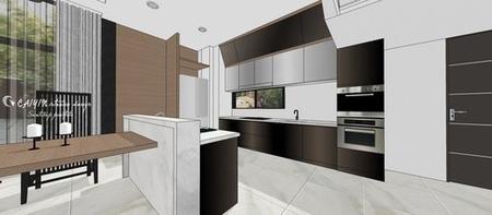 台中室內設計 現代禪風 除房空間系統櫥櫃設計.jpg