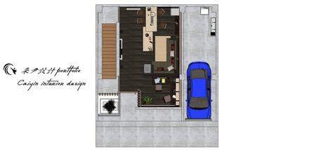 台中住宅設計 現代禪風 室內規劃設計平面圖.jpg