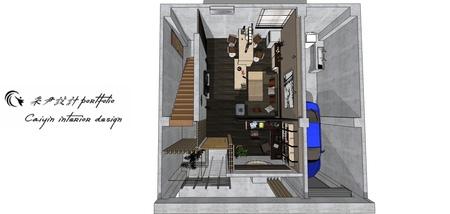 台中住宅設計 現代禪風 室內設計規劃3D圖.jpg