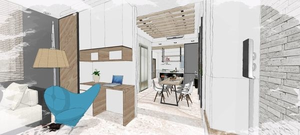 綠建材裝潢 自然人文風格 系統收納櫃設計.jpg