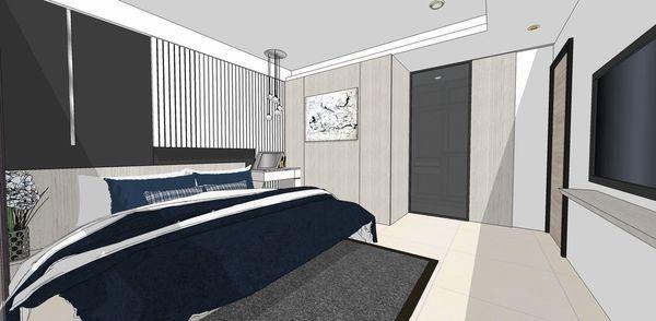 登陽建設 登陽廊香 主臥室床頭背牆設計.jpg