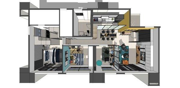 登陽建設 登陽廊香 室內空間規劃設計3D圖.jpg