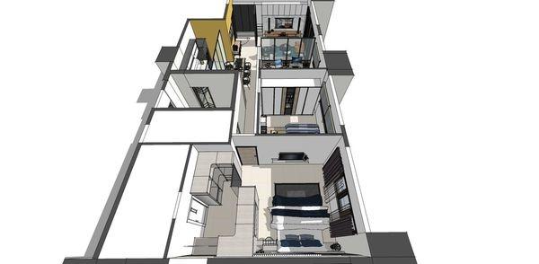 登陽建設 登陽廊香 室內規劃設計3D俯視圖.jpg
