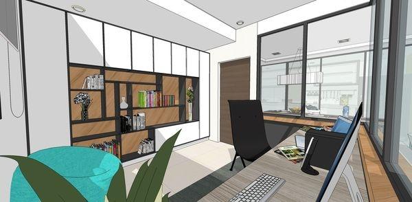 登陽建設 登陽廊香 書房空間系統收納書櫃設計.jpg