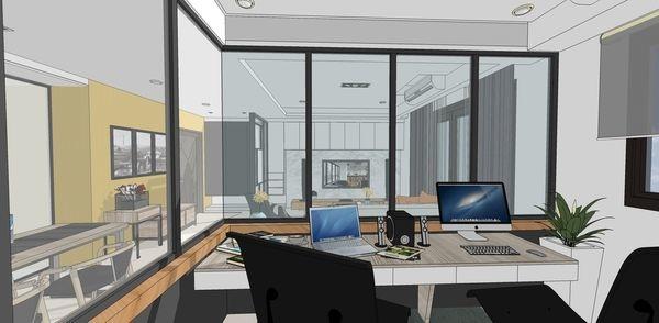 登陽建設 登陽廊香 書房空間設計.jpg