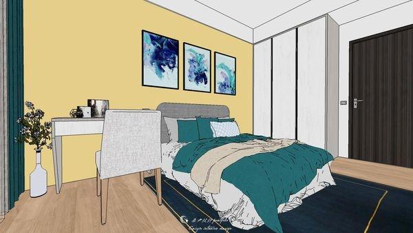 勝麗建設 雲天大地 次臥室空間次臥室系統衣櫃設計.jpg