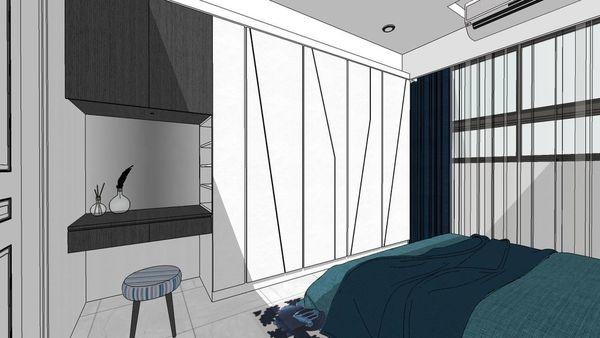 惠宇建設 惠宇新觀 主臥室系統衣櫃結合系統化妝桌設計.jpg