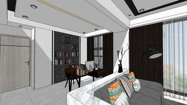 惠宇建設 惠宇新觀 書房空間系統收納書櫃設計.jpg