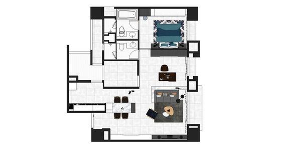 惠宇建設 惠宇新觀 三房兩廳 室內設計規劃平面圖.jpg