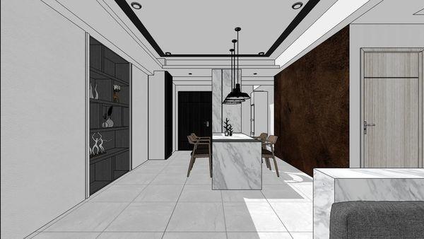 惠宇建設 惠宇新觀 餐廳空間系統收納櫃設計.jpg