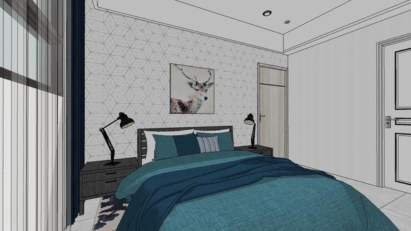 惠宇建設 惠宇新觀 主臥室床頭背牆設計.jpg