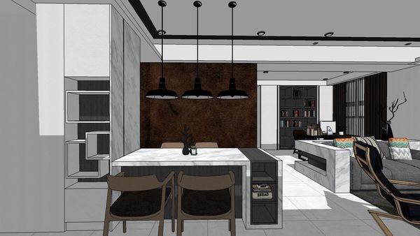 惠宇建設 惠宇新觀 玄關入口展示收納系統櫃設計.jpg