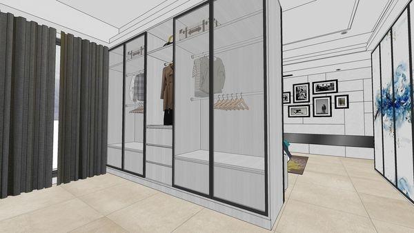 台南府都建設 DOUBLE 主臥室空間系統衣櫃設計.jpg