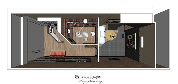 動物醫院室內設計 室內規劃設計3D圖.jpg
