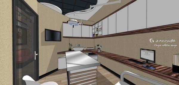動物醫院室內設計 診療室收納系統櫃設計.jpg