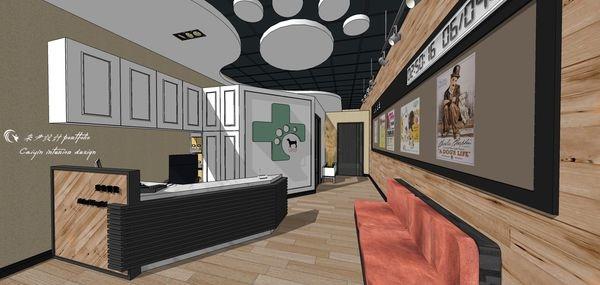 動物醫院室內設計 櫃台設計規劃.jpg