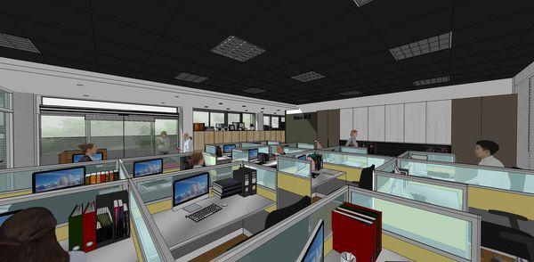 台中逢甲大學育成中心 辦公空間客製化系統櫃設計.jpg