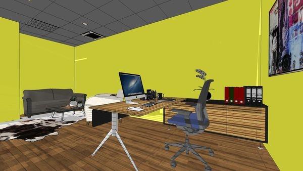 台中 商業空間辦公室設計 主管辦公室系統櫃設計.jpg
