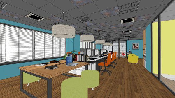台中 商業空間辦公室設計 辦公區文件收納櫃設計.jpg