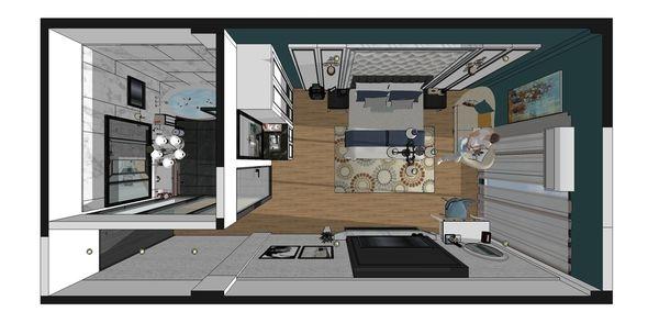 汽車旅館設計 室內設計規劃3D圖.jpg
