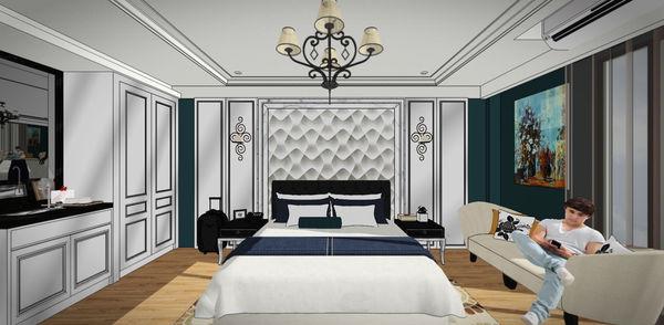 汽車旅館設計 睡眠區床頭設計.jpg