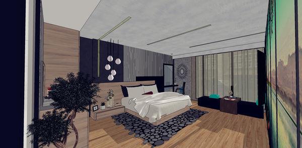 汽車旅館設計 睡眠區床頭造型設計.jpg