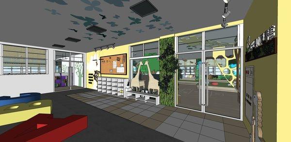 圖書館空間室內設計 大門入口設計.jpg