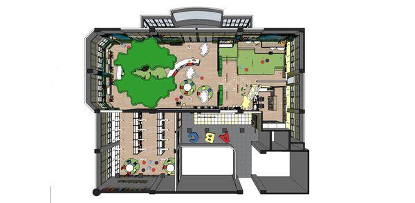 圖書館空間室內設計 室內空間規劃設計3D圖.jpg