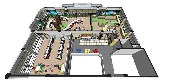 圖書館空間室內設計 室內規劃設計3D圖.jpg