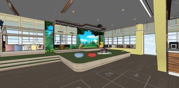 圖書館空間室內設計 表演舞台區設計.jpg
