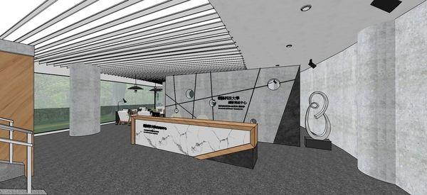 台中辦公室設計 入口處接待櫃台設計.jpg