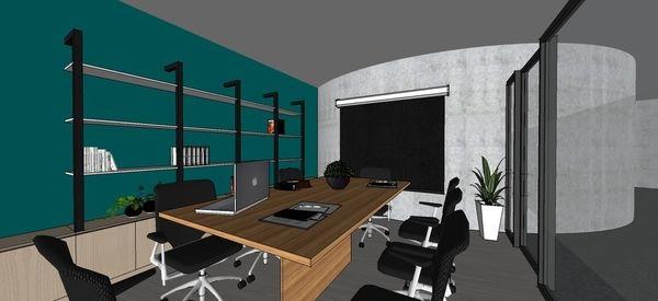 台中辦公室設計 辦公室會議區收納系統櫃設計.jpg