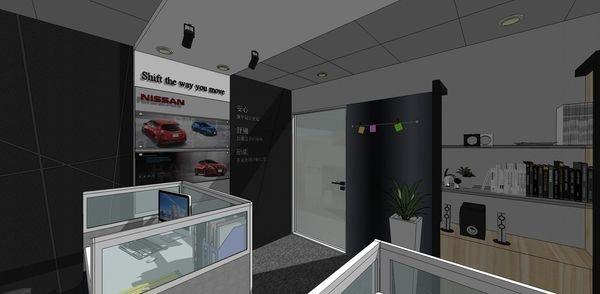 NISSAN辦公室設計 大門入口處設計.jpg