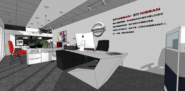 NISSAN辦公室設計 入口主管座位區設計.jpg