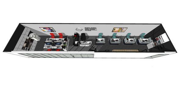 NISSAN辦公室設計 室內空間規劃設計3D圖.jpg