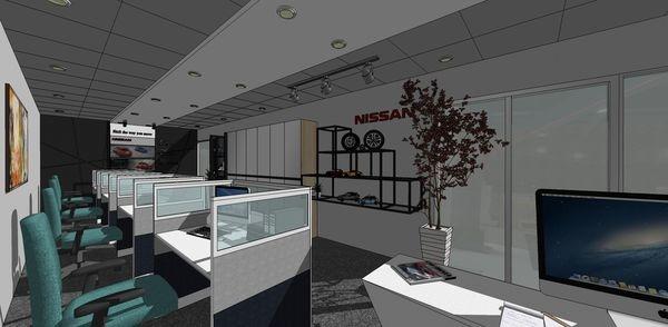 NISSAN辦公室設計 辦公區設計.jpg