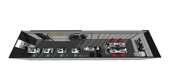 NISSAN辦公室設計 室內空間設計規劃3D圖.jpg