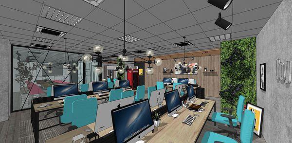 科技公司辦公室設計 工業風格辦公室設計.jpg
